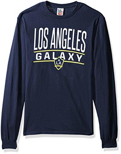 - Junk Food MLS Los Angeles Galaxy Men's Long Sleeve Tee, Large, Anvy