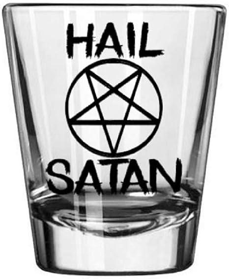 Baphomet Shot Glass Satanic Occult Magic Witchcraft