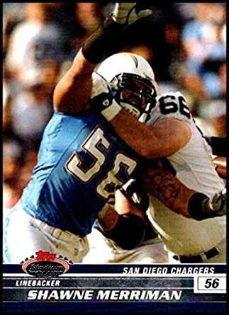 50b11487a 2008 Topps Stadium Club  95 Shawne Merriman NM-MT San Diego Chargers  Official NFL
