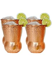 Hand Hammered Outside Copper Inside Stainless Steel Tumbler Moscow Mule Mugs Copper Tumbler Cups pure copper glass for mule cocktail beverages soft drinks Handcrafted