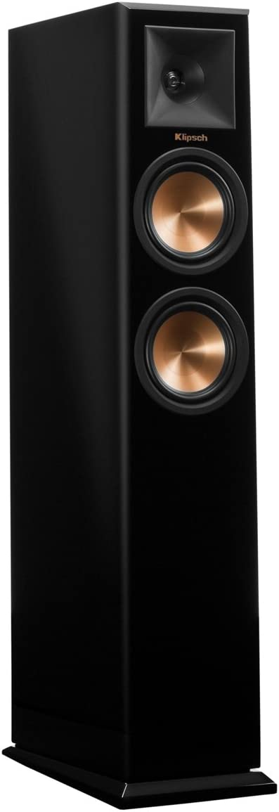 Klipsch RP-250F Tower Speakers Piano Black