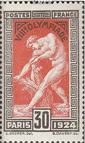 France 169-172 (Complete.Issue.) 1924 Olympics (Stamps for Collectors) Olympic Games - Games Olympic 1924