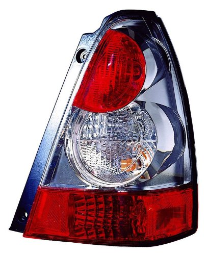Depo 320-1908R-AS1 Right Hand Side Tail Lamp Assembly (Forester Tail Lamp Subaru)