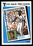 1989 Topps # 661 Turn Back The Clock Dwight Gooden New York Mets (Baseball Card) Dean's Cards 8 - NM/MT