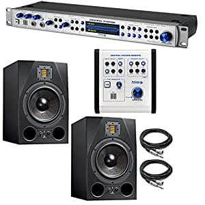 presonus central station plus with adam audio a8x studio monitor pair cables. Black Bedroom Furniture Sets. Home Design Ideas