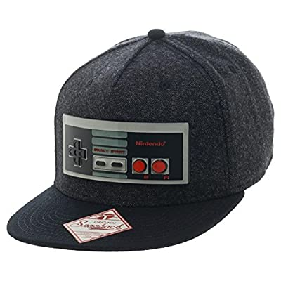 Bioworld Nintendo Controller Mens Snapback Baseball Hat