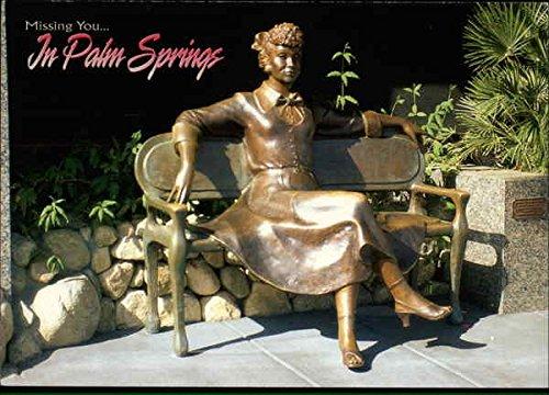 Lucy Ricardo from I Love Lucy Palm Springs, California Original Vintage Postcard