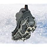 Uelfbaby Walk uelfbaby Ice Traction Cleat for Snow and Ice - Lite Duty Serious Traction cleats for Boots and Shoe Ice Cleats
