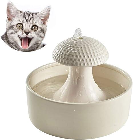 WYYZSS Bebedero Gatos, Fuente para Gatos Bebedero Automático Fuente de Agua Silencia para Mascotas Gatos Perros: Amazon.es: Deportes y aire libre