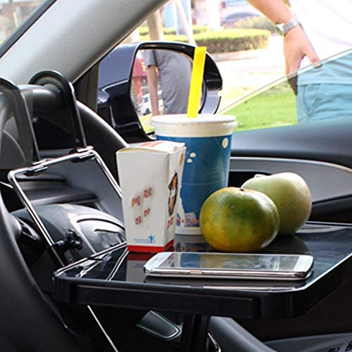 ouying1418 Car PC Mount Table Foldable Laptop Notebook Desk Table Car Drink Cup Holder