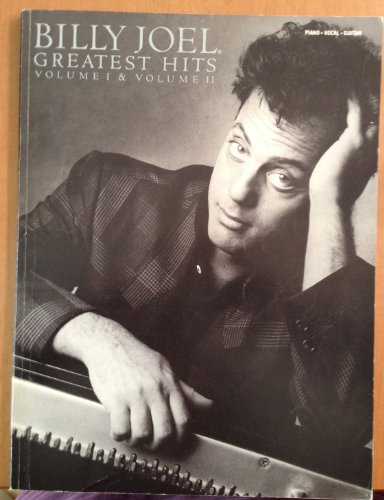 Billy Joel - Greatest Hits, Volumes 1 and 2 - Piano/Vocal/Guitar Artist Songbook Billy Joel Piano