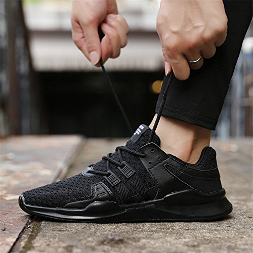 de Running Homme Course Running Noir Homme Casual Chaussure Jogging Gym Sport Fitness Chaussure Chaussure UgwTg
