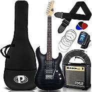 "Electric Guitar and Amp Kit - 39.4"" Full Size Electric Guitar Humbucker Pickups Bundle Beginner Starter Packag"