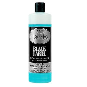 Randy's Black Label Metal Ceramic Bong Cleaner