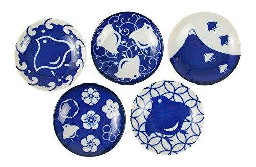 みのる陶器 千鳥づくし 豆皿 5柄セットの商品画像
