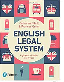 The english legal system book