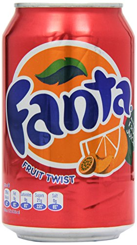 Fanta Fruit Twist 330ml X 24 by Fanta