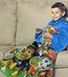 Paw Patrol Comfy Throw Blanket With Sleeves Fleece Child 48