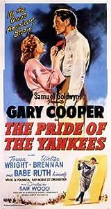 El orgullo de los Yankees 11 x 17 Póster de la película (1942)
