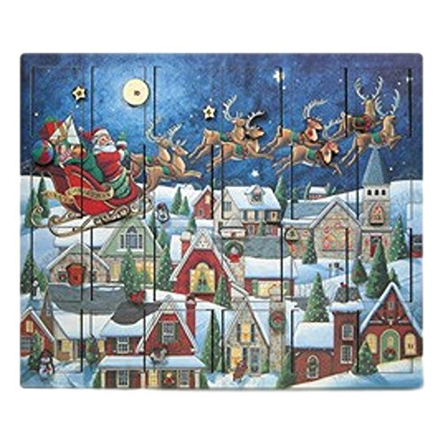 Byers' Choice Santa's Sleigh Advent Calendar #AC07