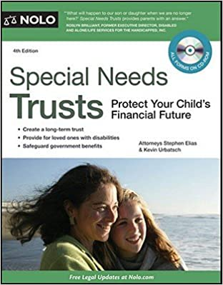 Special Needs Trusts: Protect Your Child's Financial Future [With CDROM] [SPECIAL NEEDS TRUSTS 4/E W/CD] [Paperback] Download Epub Now