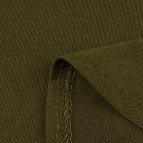 Prom Couleur Plage Cocktail Sexy LEvifun Vert de Chic Ete Sundress au Robe Femme Sol Tunique Soiree Party Robe Robe Pure Chemise Longue Coton Maxi Robe Vintage de Robe Dress qBOrUq