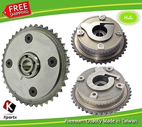 Camshaft VVT Gears 2 piezas para Citroen C3 C4 PICASSO GRAND PICASSO DS3 DS4 DS5, Motor: EP3 EP6 1,4 L 1,6 L 2008 -: Amazon.es: Coche y moto