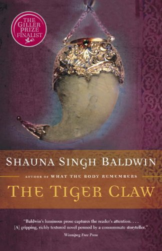 The Tiger Claw by [Baldwin, Shauna Singh]