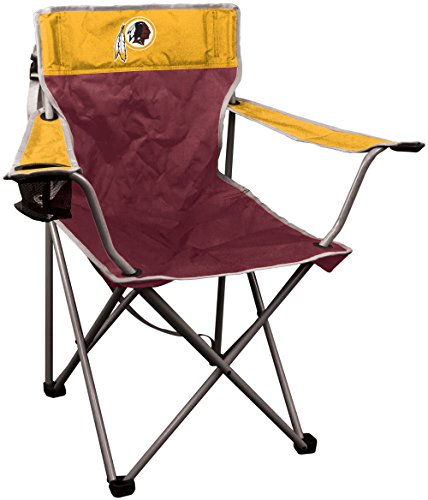 NFL Washington Redskins NFL Kickoff Quad Folding Chair Washington Redskins, Maroon, 250lb rating