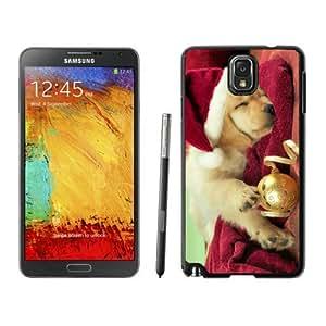 Fashion Style Christmas Dog Black Samsung Galaxy Note 3 Case 45
