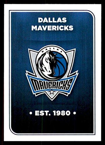 2017-18 Panini Stickers #201 Dallas Mavericks Team Logo - - Mt Maverick
