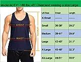 Neleus Men's 3 Pack Workout Muscle Tank Top