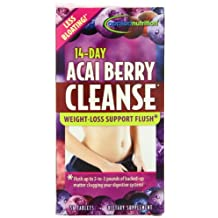 Applied Nutrition 14-Day Acai Berry Cleanse, Tablets - 56 each, 2 Pack