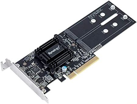 Synology Nas M2d18 Adapter For Dual M 2 Sata Ssd Nvme Computers Accessories