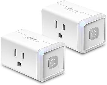 2-Pack TP-Link Kasa HS103P2 Smart WiFi Plug Lite
