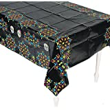 "Day of the Dead Table Cover - Size: 54"" x 108"""