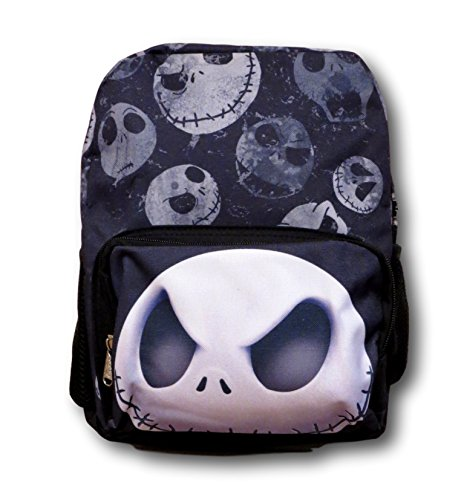 Disney Nightmare Before Christmas Jack 12 inch All Over Toddler Size Backpack