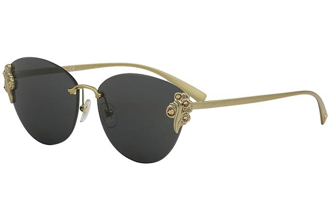 Versace 0VE2196B Gafas de sol, Tribute Gold, 58 para Mujer ...