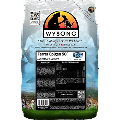 Wysong Ferret Epigen 90 Digestive Support – Starch Free Dry Natural Food for Ferrets