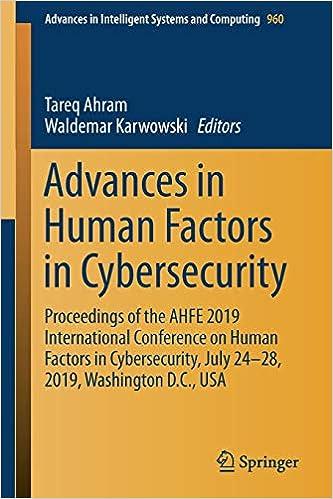 Amazon com: Advances in Human Factors in Cybersecurity