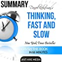 Daniel Kahneman's Thinking, Fast and Slow Summary Audiobook by  Ant Hive Media Narrated by Lee Crooks