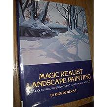 Magic Realist Landscape Painting