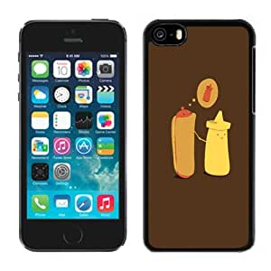 Ketchup Love Durable High Quality iPhone 5C Phone Case