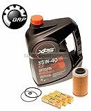 Sea Doo Oil Change Kit W/ Filter O Rings & Spark Plugs 4-Tec GTI GTX RXP RXT GTR