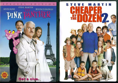 The Pink Panther (Special Edition) & Cheaper By The Dozen 2 - 2 Seperate DVDs in Set (Bonnie Hunt Cheaper By The Dozen 2)