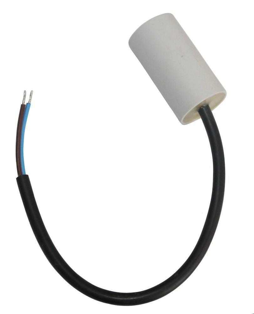 AERZETIX: Condensador de arranque del motor 5µ F 450V precableado C10219 SK2-C10219