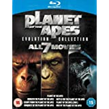 Planet of the Apes: Evolution Collection 7 Movie Box Set