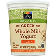 365 Everyday Value, Organic Greek Whole Milk Yogurt, Plain, 32 oz