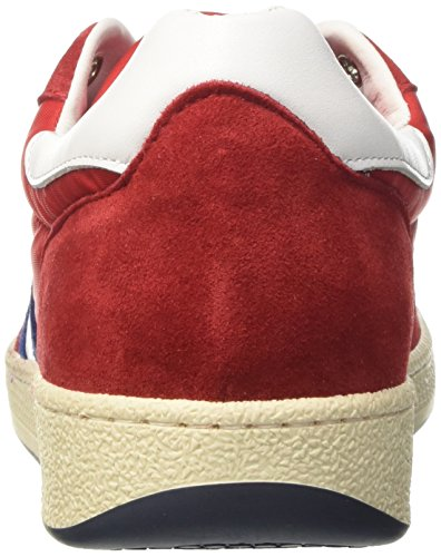 DAcquasparta Herren Ghiberti Low-Top Rosso (Rosso/Blu)