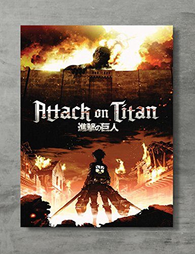 APPLEpie Attack on Titan Fire Poster High Definition Posters